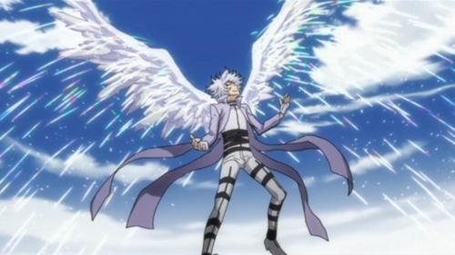 Post an anime character with wings (They can be fake ... Nabari No Ou Characters