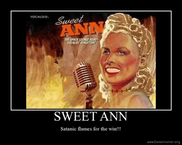 Sweet Ann and her satanic flames XP