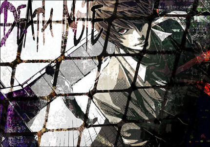 Light and L - Death Note.~