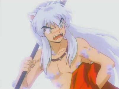 This!!!! xD Inuyasha naked!!! Ahahahah!!!
