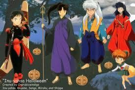 inuyasha exchanging clothes with one and other SO FUNNY