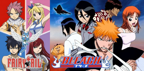 Bleach & FT ofc! :D
