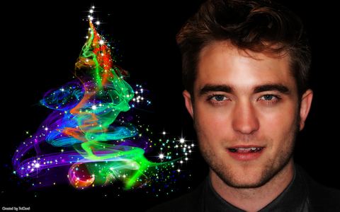 I think this is a cool pic of Robert Pattinson.He looks hot(like he always is).What makes the pic cool is the graphics in the pic,along with the color.