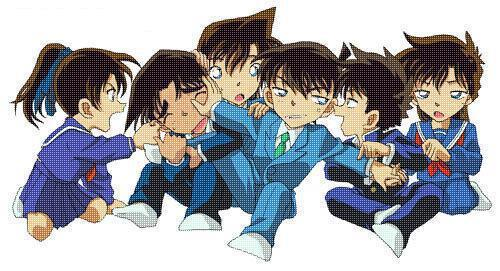 Well, always and forever.... Detective conan!!