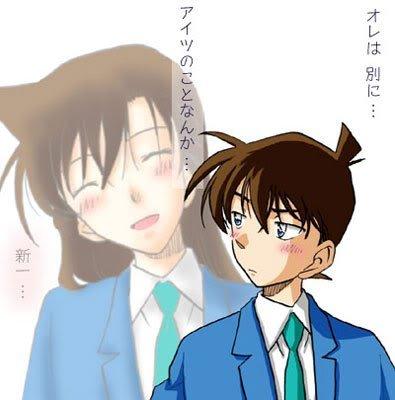 weeeeeeeeeeeeeee.... <3 Shinichi and Ran
