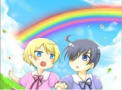 Alois and Ciel!