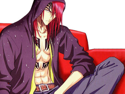 Renji from Bleach.