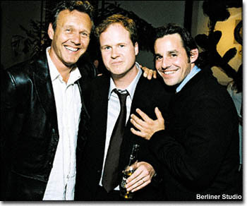 Tony with his Joss Whedon and Nic Brandon