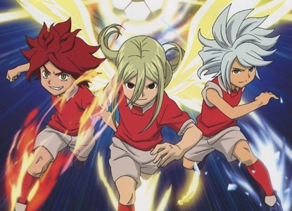Nagumo Haruya aka Burn from Inazuma Eleven, along with: