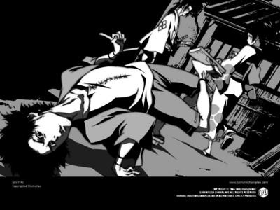 Samurai Champloo. It's been this for a while now.. ^^'
