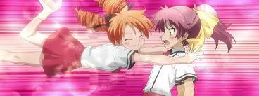 Miharu with Minami in Baka and Test XD