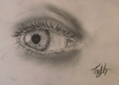 آپ should draw an eye C: