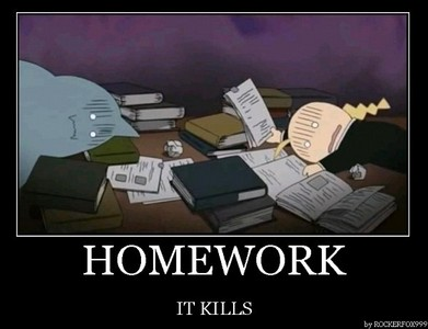 ed and al studying XD