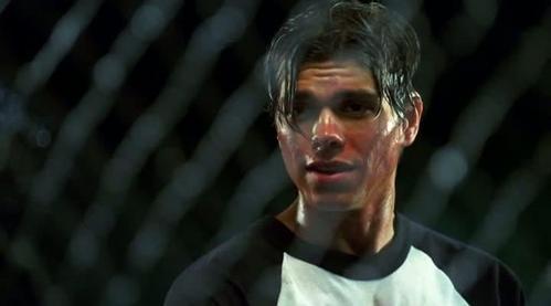 Matt is totally sweaty! :P