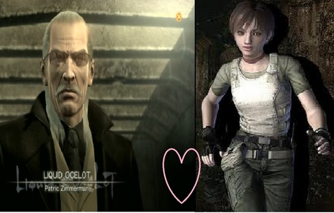 k how a bout Rebecca Chambers and liquid ocelot as a couple please