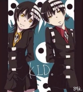 It's both genders, but the person (Death the Kid) is initially a guy...