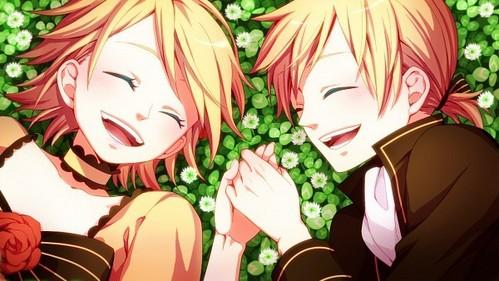 kagamine twins len and ren