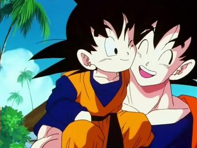 Goten and Goku ^.^