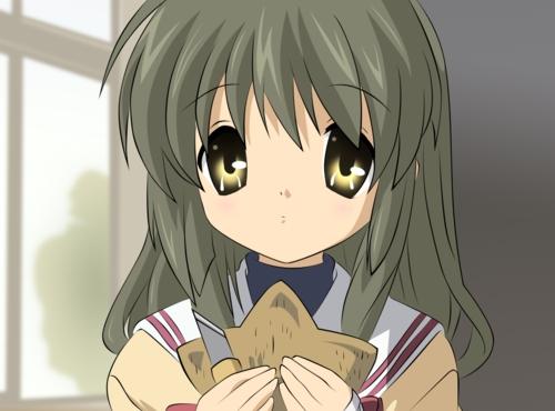 Fuko Ibuki from Clannad :3 have a starfish