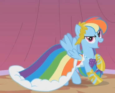 Um... I am not sure I know how to respond to that... Uh, here! Have a радуга Dash! :)