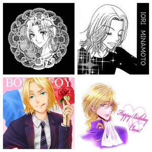 Iori Minamoto from the 망가 Beauty Pop, Narumi L. Anju from Gakuen Alice (more of his 망가 picture too though), France from Hetalia, and Clovis La Britannia from Code Geass. THEY ALL LOOK AND ACT LIKE EACH OTHER. What I fin even 더 많이 disturbing: France: Famous for seduction, flamboyant, pervert. Iori: Uses aromatherapy to control people's pheromones to seduce them, flamboyant, bit suggestive as well. Narumi: His Alice (or special ability) is to control people's phermones to seduce anyone, flamboyant, yes he's a bit of a pervert. Clovis: Quite the ladies man and artistic, flamboyant. If these people were to ever meet... O.O (Pssht 당신 know you'd 사랑 it)