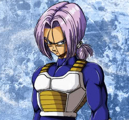 Trunks is soo [b]hot[/b] with a ponytail. <3