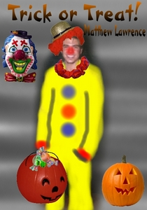 My silly Matthew dressed as a clown!! XD Created by me.