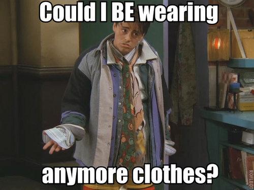 Matt LeBlanc in Friends. LOL