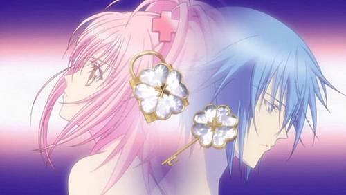 Well I just want to say that Ikuto didn't steal the lock from the Hotori family because it originally belonged to Aruto Tsukiyomi who gave it to Tadase's dad to take care of it then he gave it to Tadase but it is rightfully Ikuto's and Amu has the lock cause it was given to her she is also the rightful owner of the lock. In the anime Ikuto and Amu are destined to be together cause of the lock and the key which match each other. And without the lock and key then they won't have transformed into Seven Seas Treasure and Amulet Fortune. Also Ikuto was not using Amu he was forced into finding the Embryo and did not use her at all.