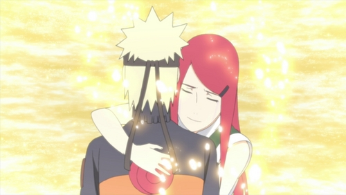 Kushina and Naruto~