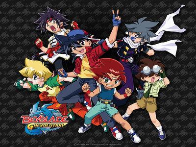 Pokemon, Dragon Ball Z, Bakuten Shoot Beyblade! and Digimon Season 1! Official first was K-ON! ^^