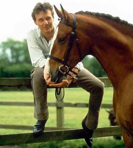 Tony and his horse