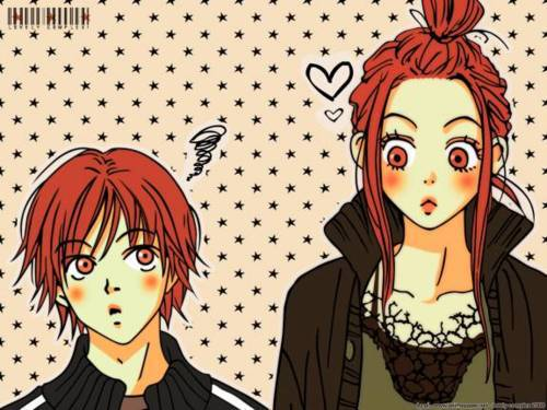 Otani and Risa from Lovely Complex!!!