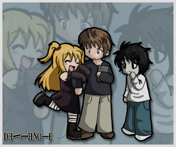 Yes altho he dies i still wish i was l from death note o mabey even Misa! (Misa blond chick l weird looking dud in corner)