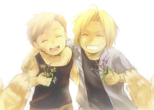 Another one of Edward and Alphonse Elric