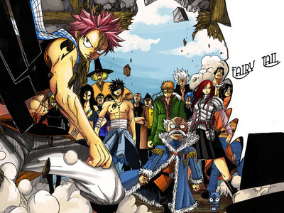I also agree with Fairy Tail x3 .. But One Piece 或者 Katekyo Hitman Reborn would also be cool..hmm..>__<....... No, I'd really like to live in the world of Fairy Tail x3 ..There really are just too many nice Animes I'd like to live in... 或者 更多 like...any 日本动漫 World with a bit of 幻想 would be much better than this real world <3