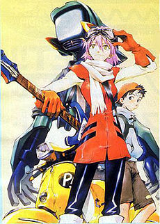 FLCL. It HAS to be the weirdest out there, after Bobobo (though I haven't seen that one.) I have absolutely no clue what happened in this show.