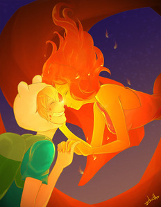 <b><u>Flame Princess</b></u>. Besides the fact that most obviously ship Finname, I have reasons why I chose her. 