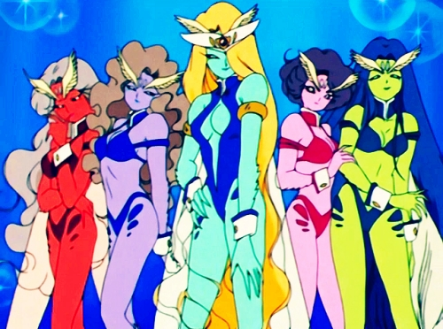 How about The DD Girls from Sailor Moon