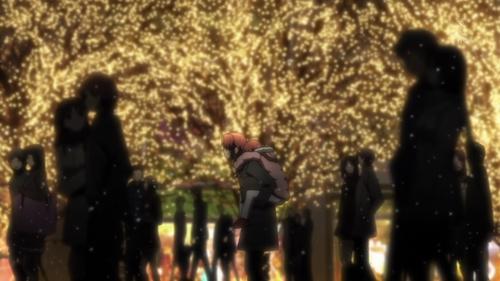 Yuzuru Otonashi and his sister, Hatsune. <3 I cried so much after this scene...