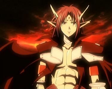 Chrono's unlocked true demon form from Chrono Crusade.