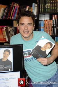 John Barrowman holding his own book :)