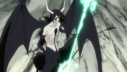 How about Ulquiorra from Bleach