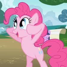 if i swapped bodies with pinkie pie i be random and start making parties
