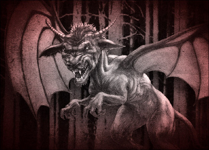 was proof that the Jersey Devil exist, I'd be AMAZED AND ASTONISHED!!!