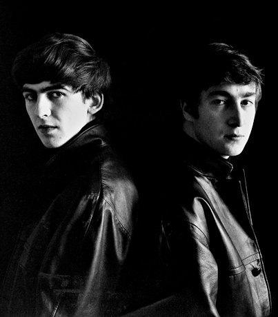 Two deceased people, actually. John Lennon and George Harrison.