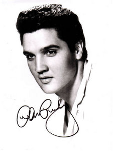 I used to (and kinda still do) have a HUGE crush on Elvis Aaron Presley. He was just so talented and funny and sexy and smart...and I can go on and on about it. But I'm not going to because I don't fucking feel like it. K THANKS.