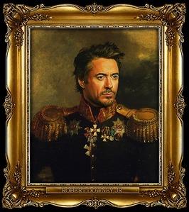 Focused, flamboyant, fierce. Robert Downey Jr.