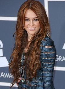 miley's hair is just like her.......so soft and shiney...with a lot of fun wave..