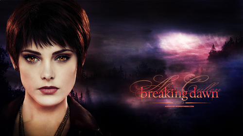 I would have to say Alice Cullen.I upendo and adore Alice.If not for her visions,the Cullens would probably have been killed kwa the Volturi,which I shudder to even think about happening.